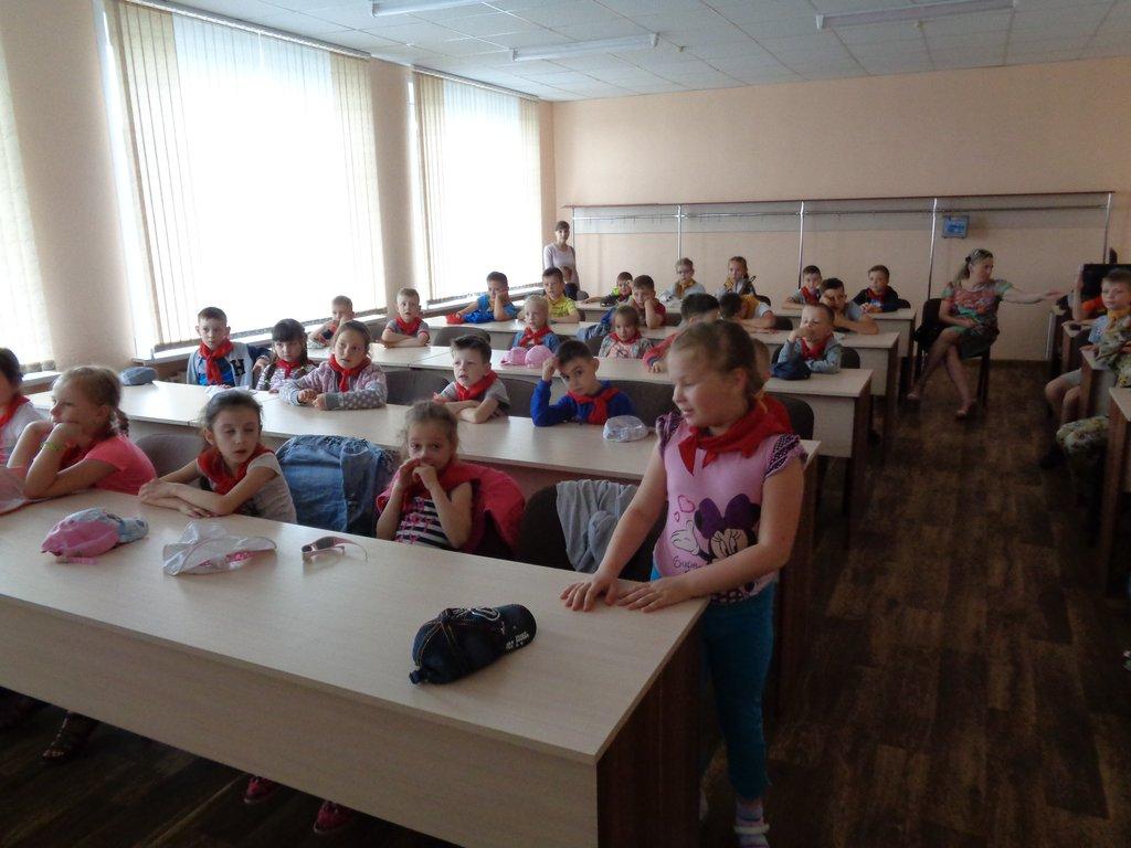 Урок безопасности для учащихся школы