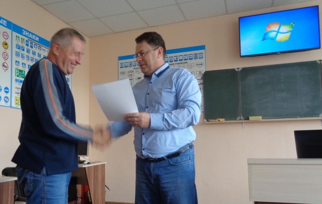 Итоги подведены в  Брестской  РОС ДОСААФ.